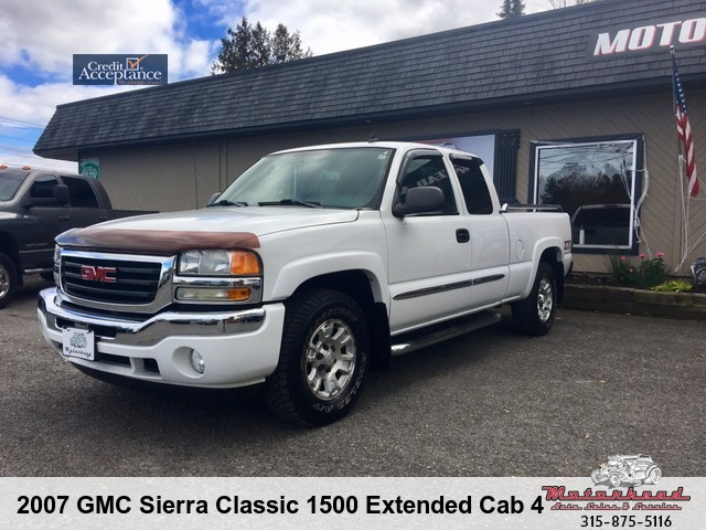 2007 GMC Sierra Classic 1500 SLT Extended Cab Z71