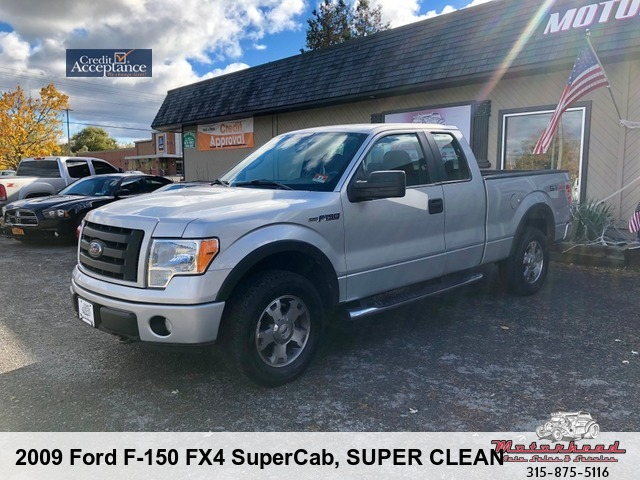 2009 Ford F-150 FX4 SuperCab 5.5-ft. Bed